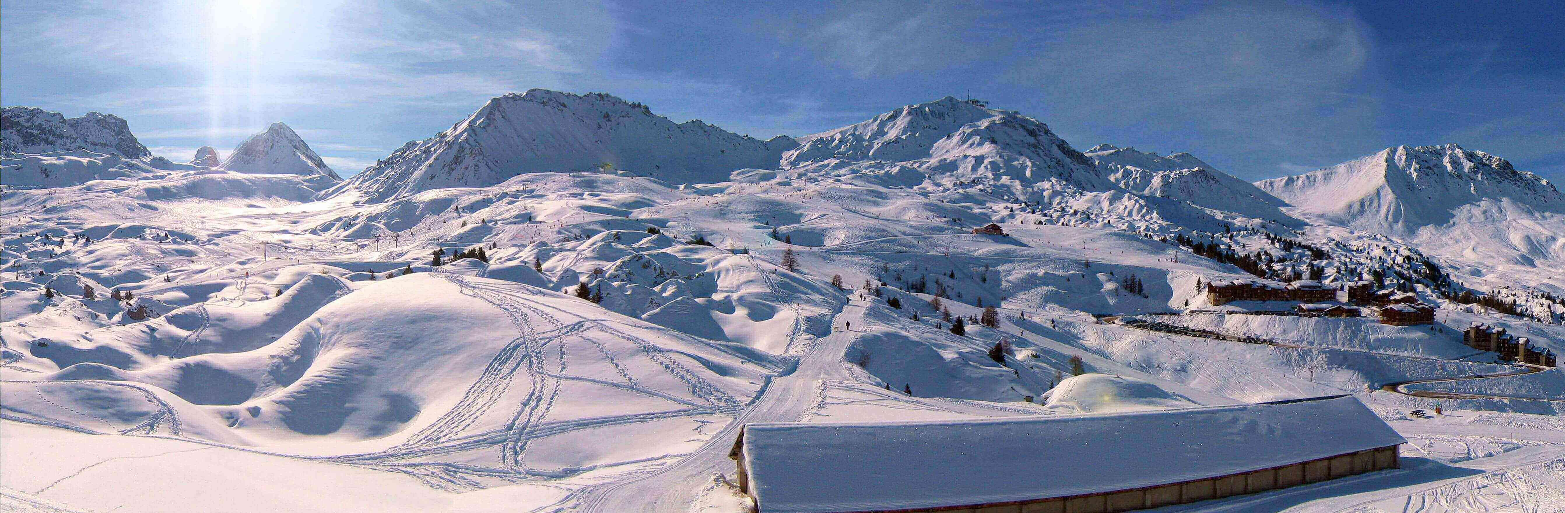 Ski the French Alps in La Plagne