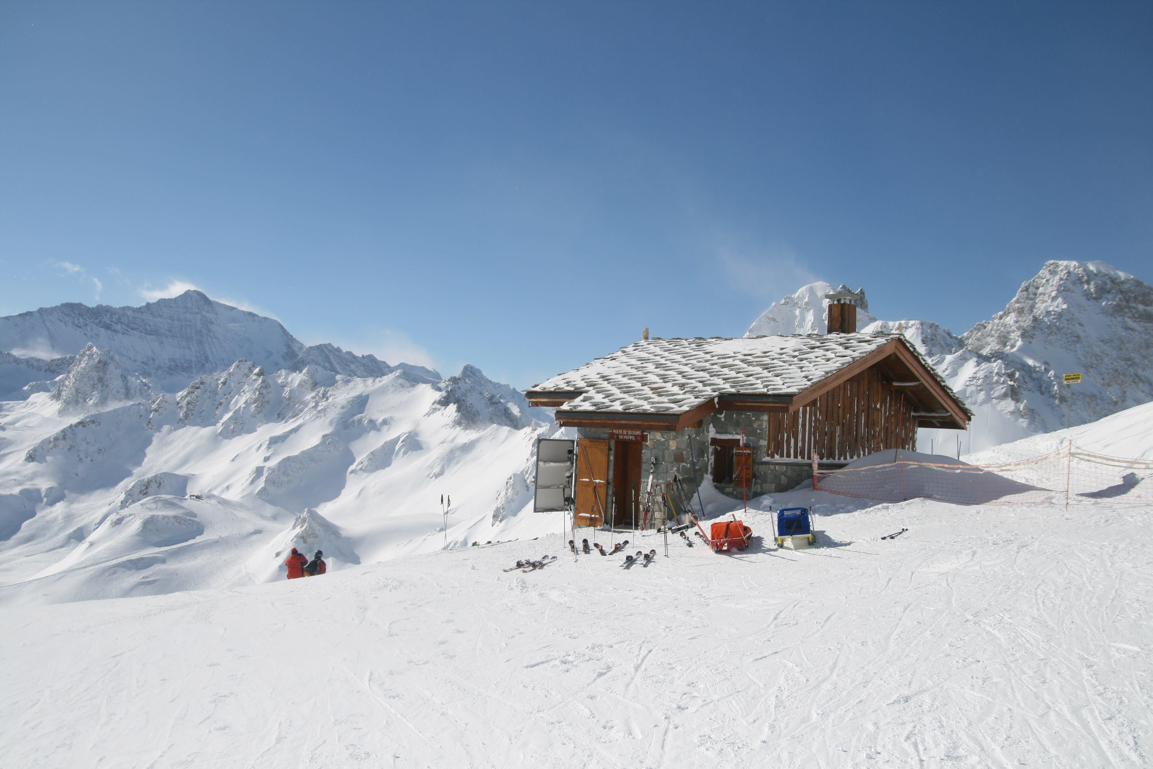 Val d'isere - a classic resort from 19th century