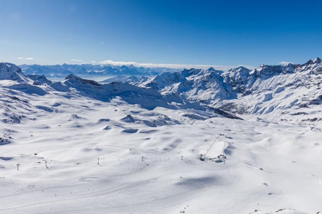 Cervinia Glacier