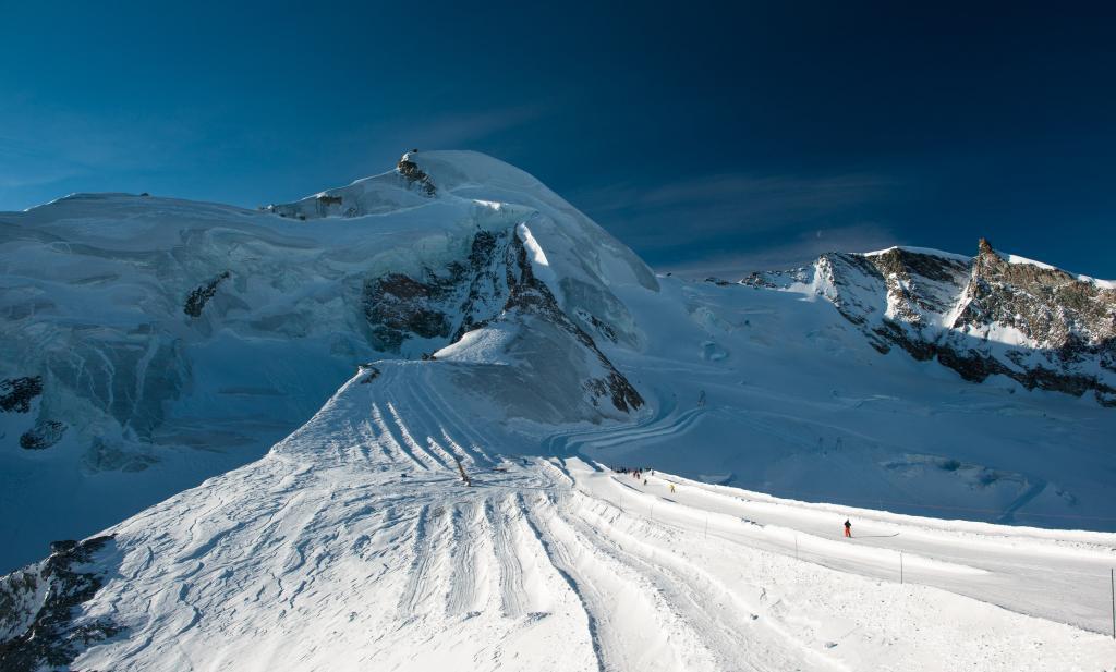 Saas-Fee-Glacier